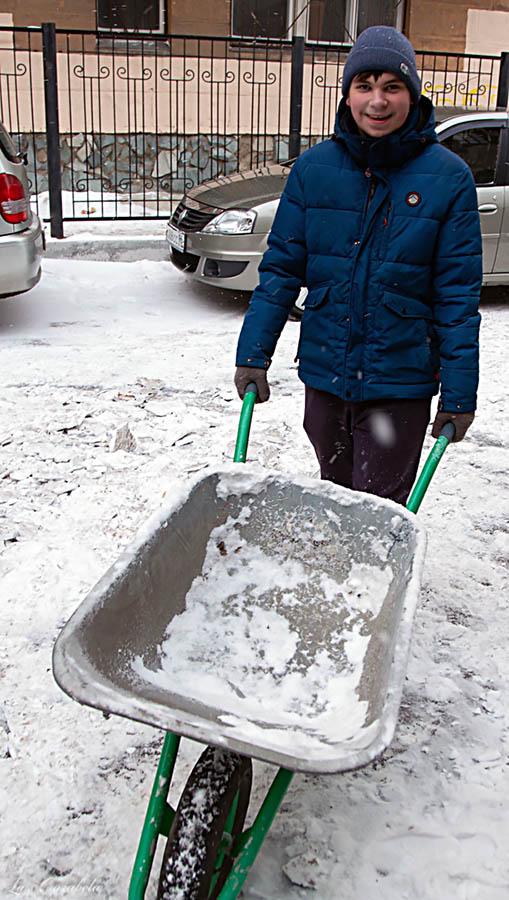 Егор Серебренников: потому, что нас было очень много, а снега мало