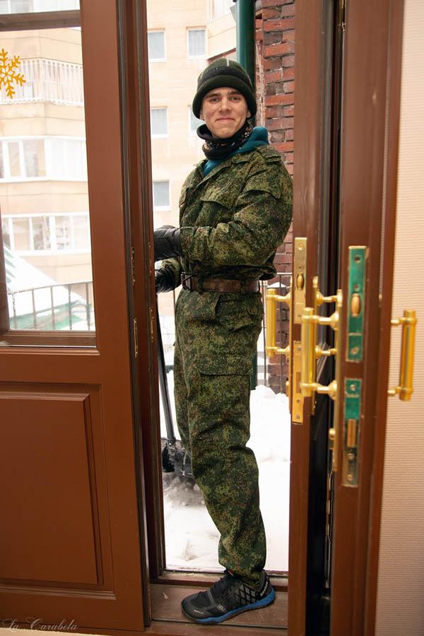 Саша Кузнецов: предстояло убрать и белый снежок, и серую пыль