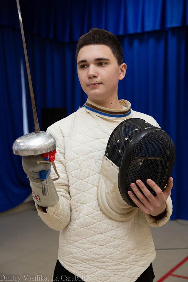 Капитан команды Костя Коноплёв перед финальным поединком