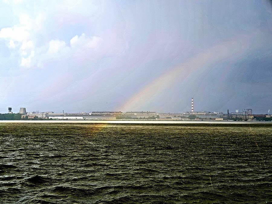 Уральская погода не даёт скучать яхтсмену и готовит его ко любым своим капризам