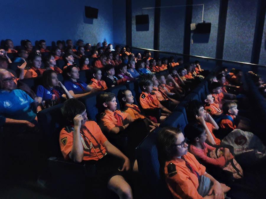 Каравелльцы погрузились в особую атмосферу фильма...
