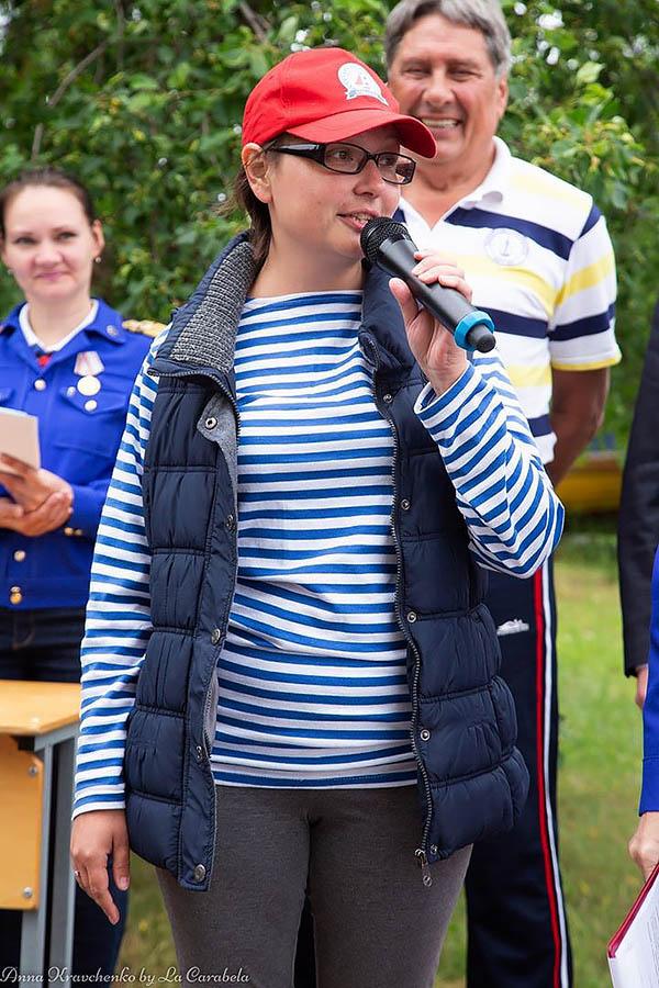 Наталья Изгагина приветствует всех участников Семейного экипажа