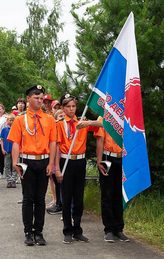 Знаменосцы «Каравеллы» готовы вернуть флаг Департамента в его строй