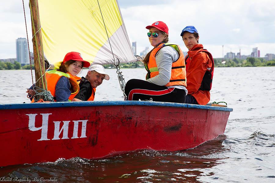 Экипаж Гоши Минчакова готов к переходу на другой берег