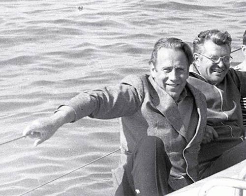 В 1979 году на яхте «Орион»