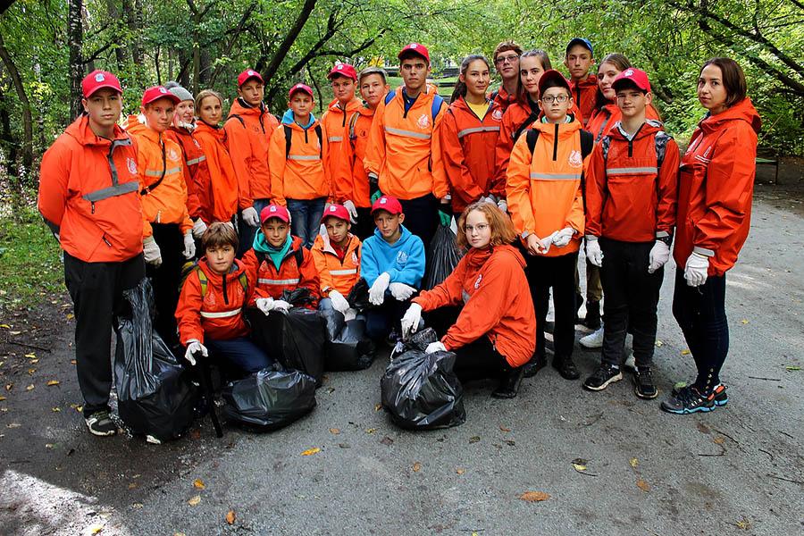 Дежурное, но очень памятное фото после окончания волонтёрской работы