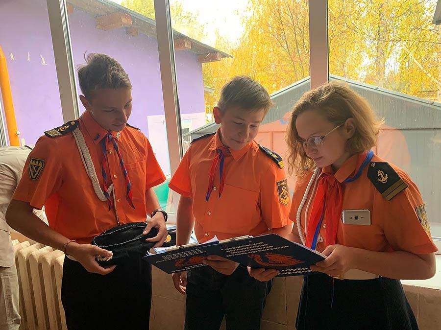 Каравелльцы готовятся к презентации программ отряда