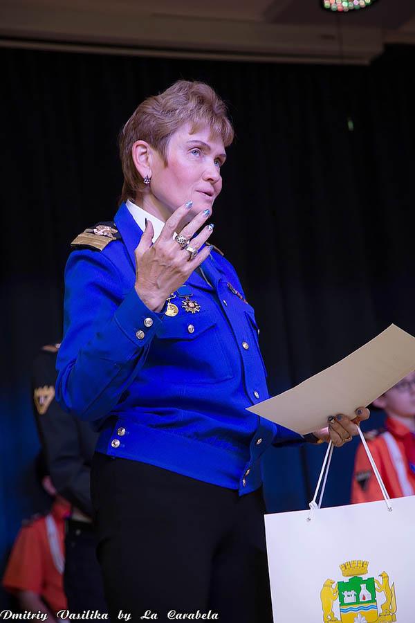 Командор отряда «Каравелла» Лариса Крапивина- автор и основной вдохновитель конкурса «Лоцман»