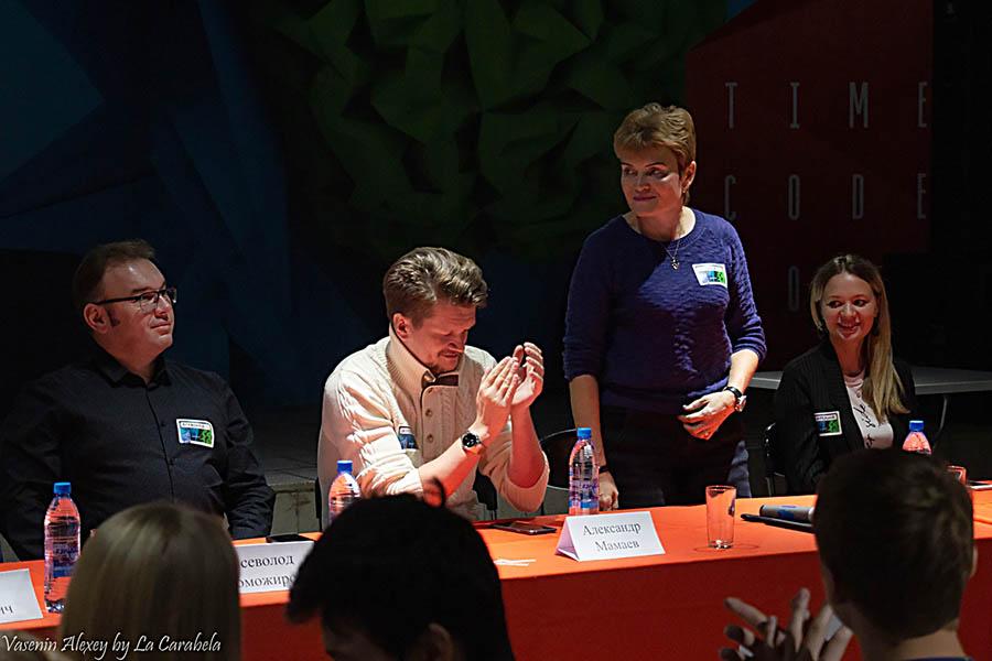 Пресс-конференция с членами жюри