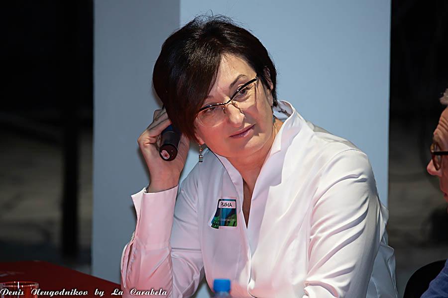 Ирина Росинская - главный организатор фестиваля Тайм Код