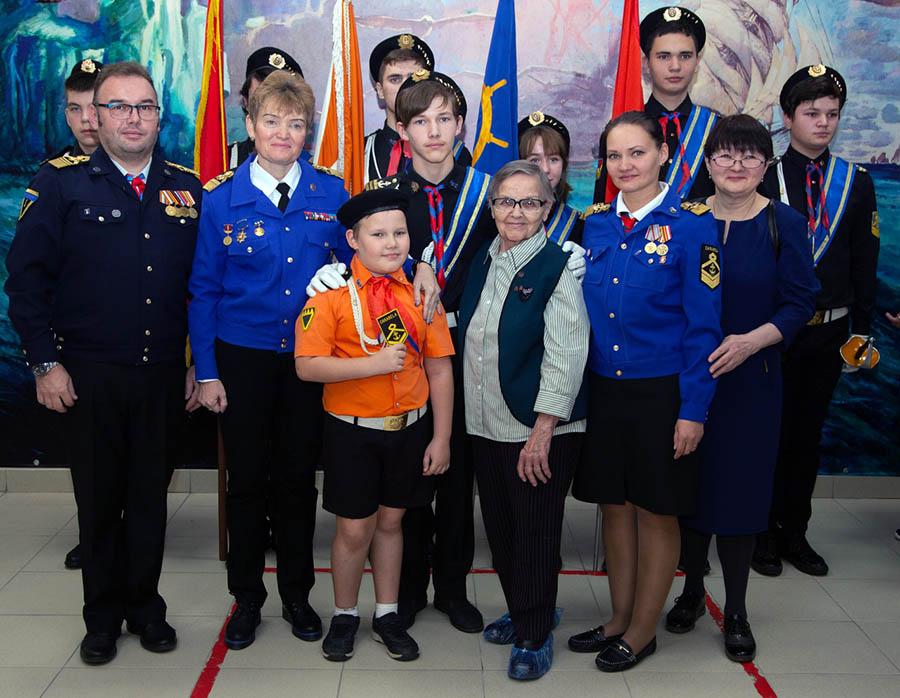 Один из ярких моментов сбора - семья Доможировых пополнилась ещё одним каравелльцем