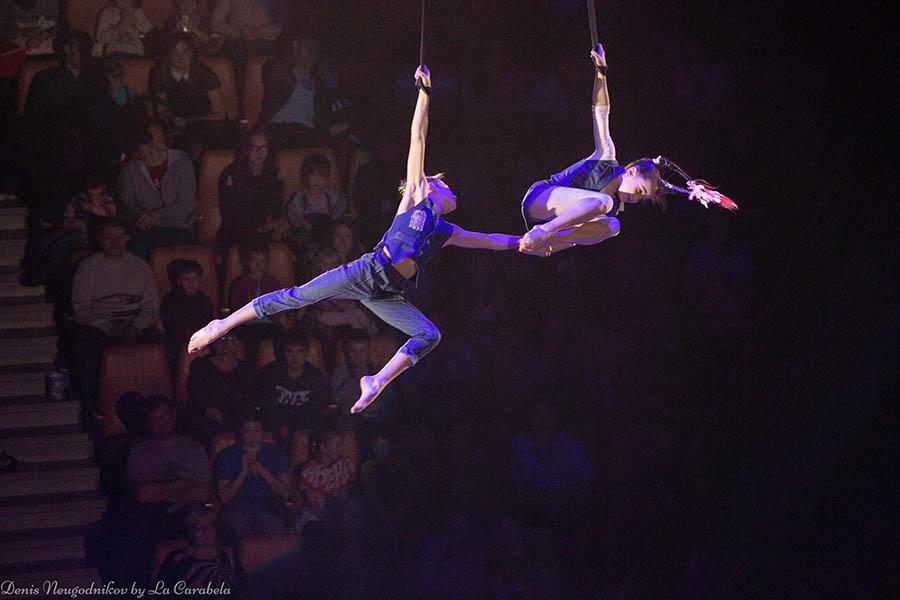 Самые удивительные и страшные моменты выступления циркачей