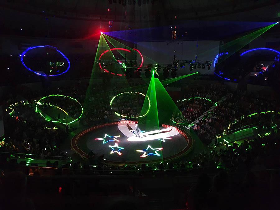 Волшебная атмосфера цирка!