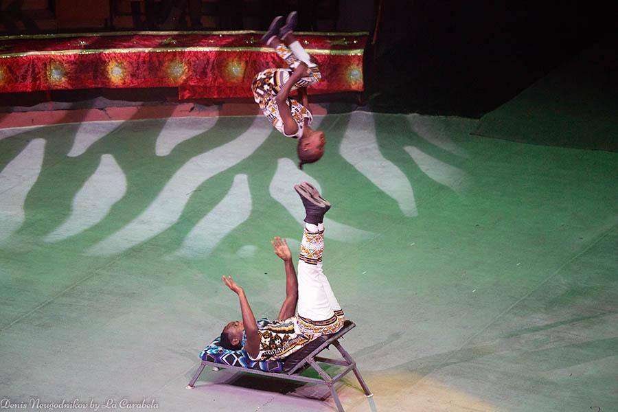 Всем запомнился цирковой номер из Эфиопии – Сиса и Анта
