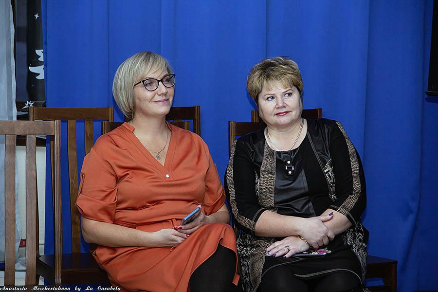 Наталья Морозова и Наталия Омелькова в отряде «Каравелла»