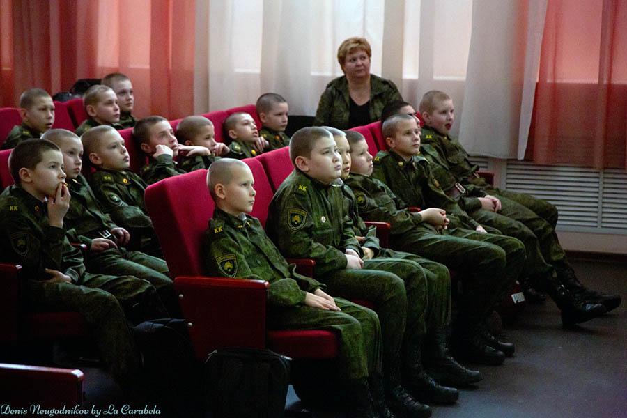 Кадеты увлечены страшной историей блокадного Ленинграда