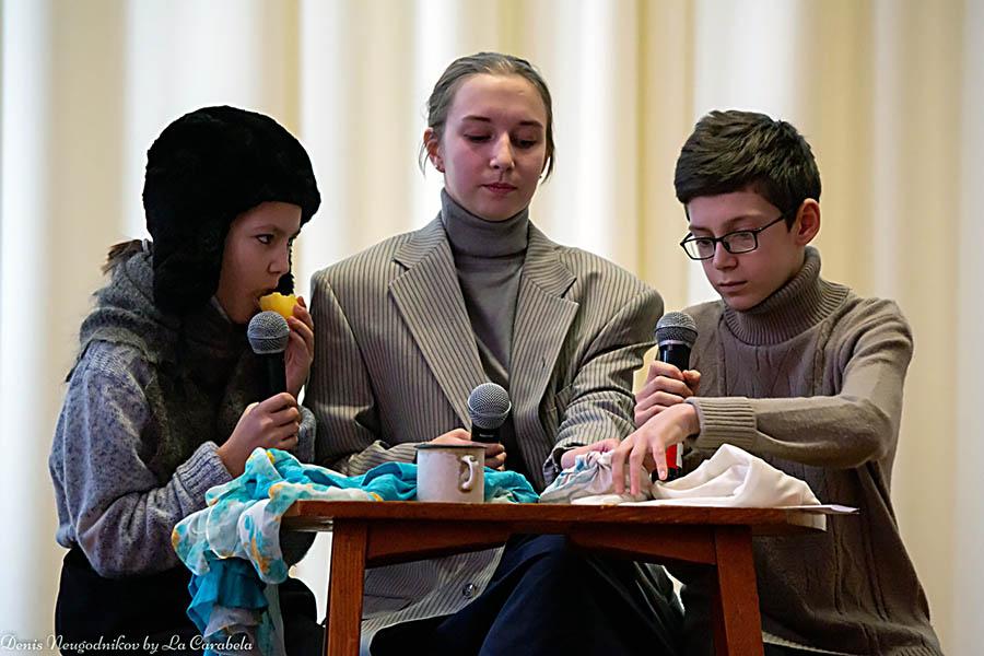 Играть голодных детей Ленинграда современным ребятам не просто